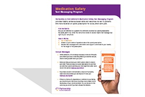 Medication Safety Text Messaging Program