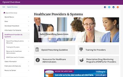 CDC Prescribing Guidelines