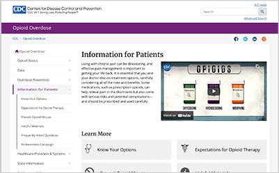 Opioid Patient Fact Sheet