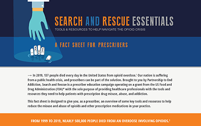 Search and Rescue Fact Sheet